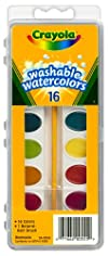 Crayola 16 Ct Washable Watercolors