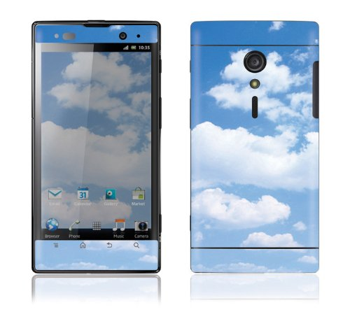Sony Xperia Ion Decal Phone Skin Decorative Sticker W/ Free Matching Wallpaper - Clouds