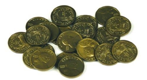 Dollar Coins (Set of 50) PLAY MONEY