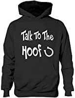 Talk To The Hoof Girls Horse Riding Hoodie Sizes 5 - 13 Years