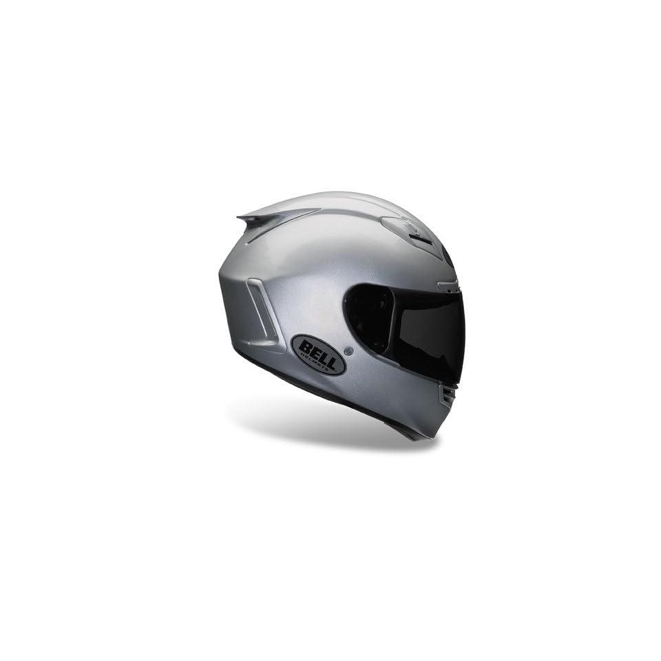 Bell Star Metallic Silver Full Face Motorcycle Helmet