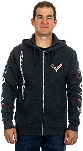 laugh-dusk-chevrolet-corvette-c7-collage-emblem-sleeves-mens-zip-up-hoodie-medium