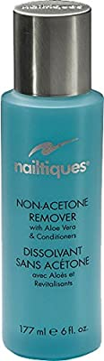 Nailtiques Non-Acetone Remover with Aloe Vera and Conditioners 6 Ounce