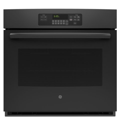 "Ge Jt3000Dfbb 30"" Black Electric Single Wall Oven"
