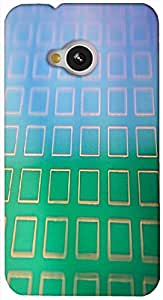 Timpax protective Armor Hard Bumper Back Case Cover. Multicolor printed on 3 Dimensional case with latest & finest graphic design art. Compatible with HTC M7 Design No : TDZ-22357