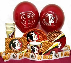 Amazon.com : Florida State Seminoles Party Supplies Pack # 3 : Sports ...