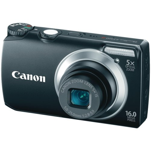 Canon Powershot A3300 16 MP Digital Camera with 5x Optical Zoom (Black)