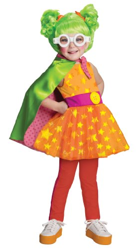[Lalaloopsy Deluxe Dyna Might Costume, Medium] (Lalaloopsy Costumes For Girls)