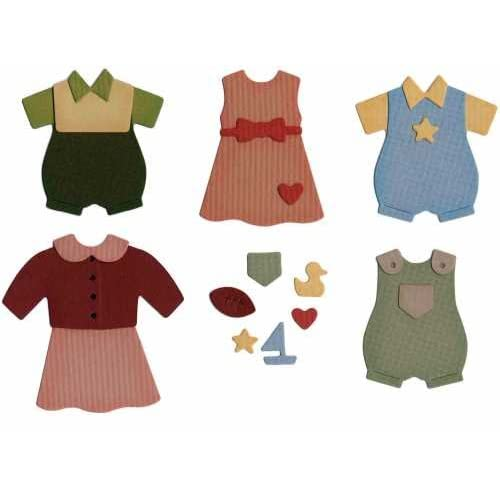 Amazon.com: We R Memory Keepers Die Set, Baby Clothes