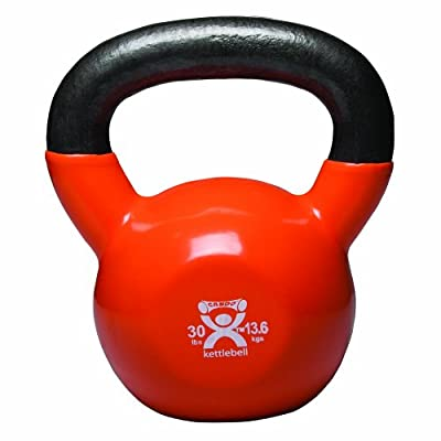 Cando 10-3197 Gold Kettle Bell 30 Lbs Weight from Cando