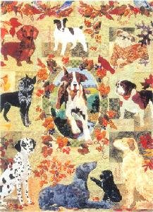 Summers End Dogs BOM Maggie Walker 10 Applique Quilt Patterns