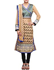 Kalki Fashion Straight Fit Suit Featuring In Beige With Resham Embroidery Only On Kalki