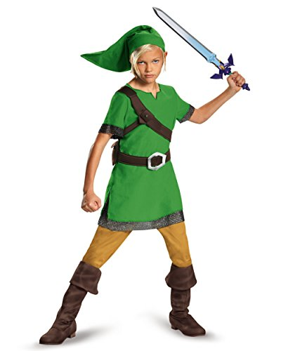 Childs Link The Legend of Zelda Elf Classic Boys Costume
