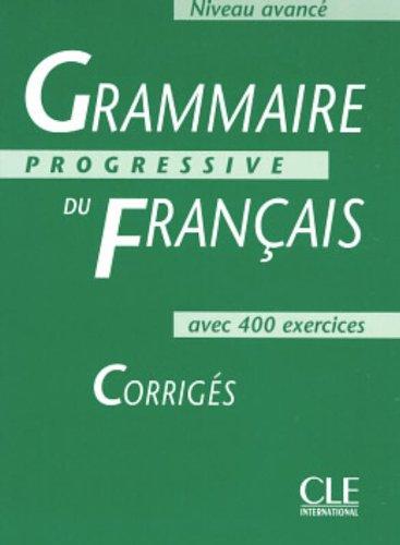 Grammaire Progressive Du Francais: Corriges (French Edition)