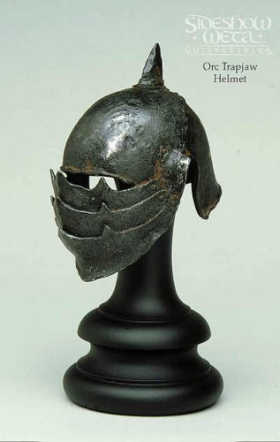 Buy Low Price Sideshow Orc Trapjaw Helm – Lord of the Rings – 1/4 Scale – Limited Edition – Sideshow – New Figure (B001500VYY)