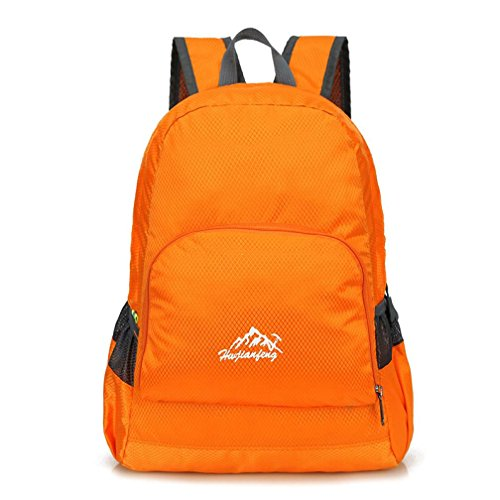 Laimeng, Outdoor Waterproof Bionic Camouflage Pattern Folding Backpack Package Bag Camo (orange) (Soda Can Ashtray compare prices)