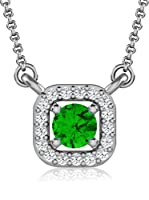 Art Of Diamond Collar Emerald White Gold