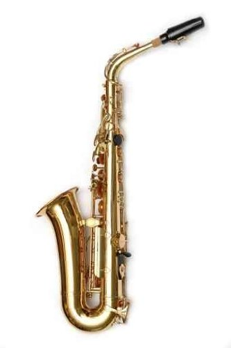 "Saxophone - 36""H x 24""W - Peel and Stick Wall Decal by Wallmonkeys"