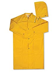 ERB 14361 4148 PVC Raincoat, Yellow, Large