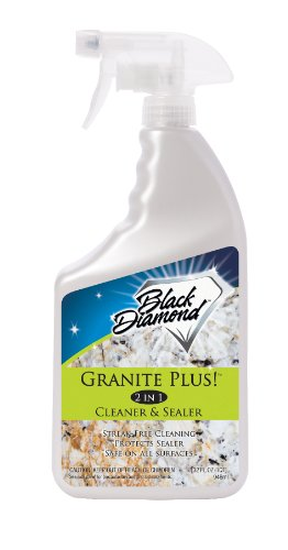 Black Diamond GP QT Granite Plus! Cleaner and Sealer, 32-Ounce