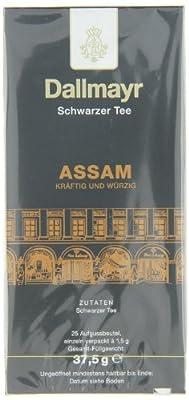 Dallmayr Tee Aufgussbeutel - Assam, 1er Pack (1 x 37,5 g) von Dallmayr bei Gewürze Shop
