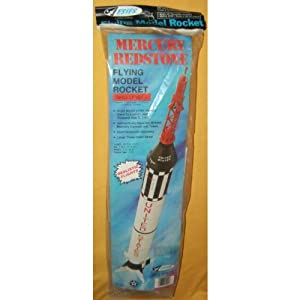 ESTES MERCURY REDSTONE MODEL ROCKET KIT #1921 VINTAGE 1975