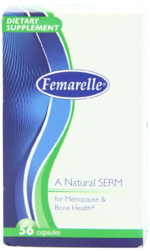 Femarelle Menopause/Bone Health Capsules, 56 Count