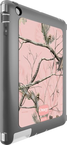 Otterbox Defender Series Case With Screen Protector And Stand For Ipad 4, Ipad 2 And 3 - Realtree Pink