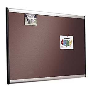 Quartet Prestige Plus Diamond Mesh Fabric Bulletin Board, 3 x 4 Feet, Aluminum Frame (B444A)