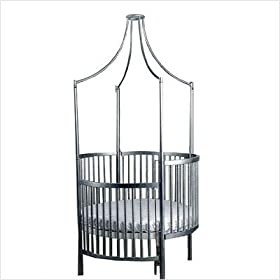 Little Miss Liberty Crystal Round Crib