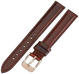 Daniel Wellington 1000DW - Correa de cuero para reloj de mujer, color marrón (13.0 mm) de Daniel Wellington