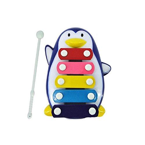 xilofono giocattolo pinguino attività musicale, FEITONG bambino ragazzo giocattolo di sviluppo di saggezza 5-nota