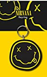 Nirvana Smiley nevermind Official New Multicolour Keyring