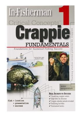 In-Fisherman book CRITICAL CONCEPTS CRAPPIE 1 Fundamentals - 1