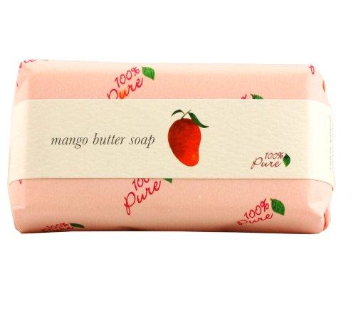 100%Pure クリーミィバターソープ 3.マンゴー 127g