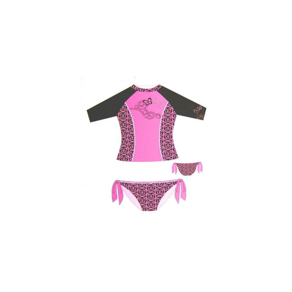 bed0f4dee78f6 Social Butterfly UV Sun Protective Swim Suit by Gossip Girl on PopScreen