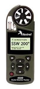 Kestrel 4500 Pocket Weather Meter - Olive Drab Night Vision by Kestrel