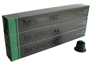Nespresso Capsules UK - 30x Capriccio - Original Nestlé - Espresso Coffee