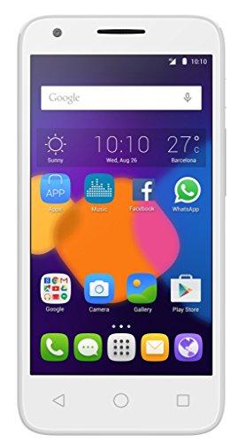 Alcatel Pixi 4 Smartphone da 8 GB, Bianco [Italia]
