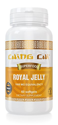 Royal Jelly | 2 Month Supply | Freeze-Dried For Maximum Stability And Quality 1000 Mg Equivalency | 60 Softgels (Organic Freeze Dried Eggs compare prices)