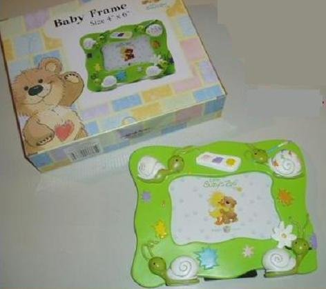 Little SUZY'S ZOO PEEK A BOO Baby Picture Photo Frame 4 x 6""