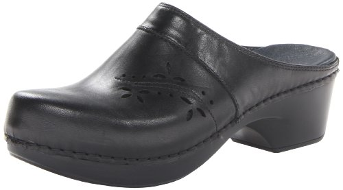 Dansko Women'S Trina Mule,Black,38 Eu/7.5-8 M Us back-261526