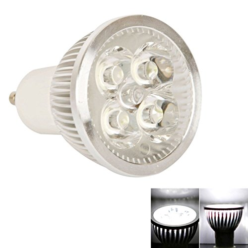 Spot Bulbs - Gu10 4W 90 Lumen 5000K Pure White Light Led Spotlight Bulb (110V)