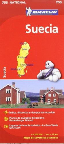 Mapa National Suecia (Mapas National Michelin)