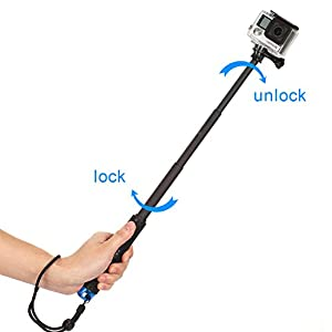 Meking Selfie Stick for Gopro Hero 4 3 3+ 2 1