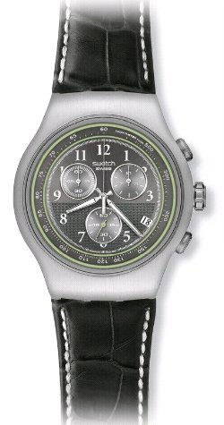 Swatch - Irony THE Chrono - MR. GREY - Buy Swatch - Irony THE Chrono - MR. GREY - Purchase Swatch - Irony THE Chrono - MR. GREY (Swatch, Jewelry, Categories, Watches, Men's Watches, By Movement, Quartz)