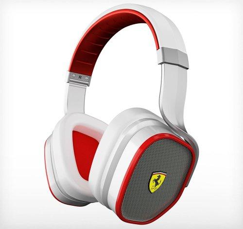 Ferrari By Logic3 Scuderia R300I White Headphones