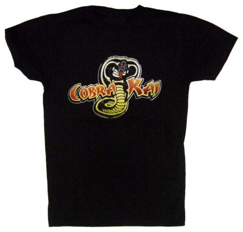 Men's Cobra Kai Karate Kid 80s Movie T-shirt - S to XL