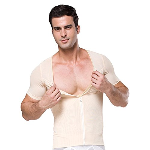 Fitnesssun - Mens Tights Undershirt - Compression Base layer - Body Shaper Sports Muscle T-Shirt - Abs Abdomen Slim (Stafford Performance Super Shirt compare prices)