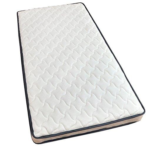 タンスのゲン ポケットコイルマットレス シングル 高密度465個 ホワイト 1780000600